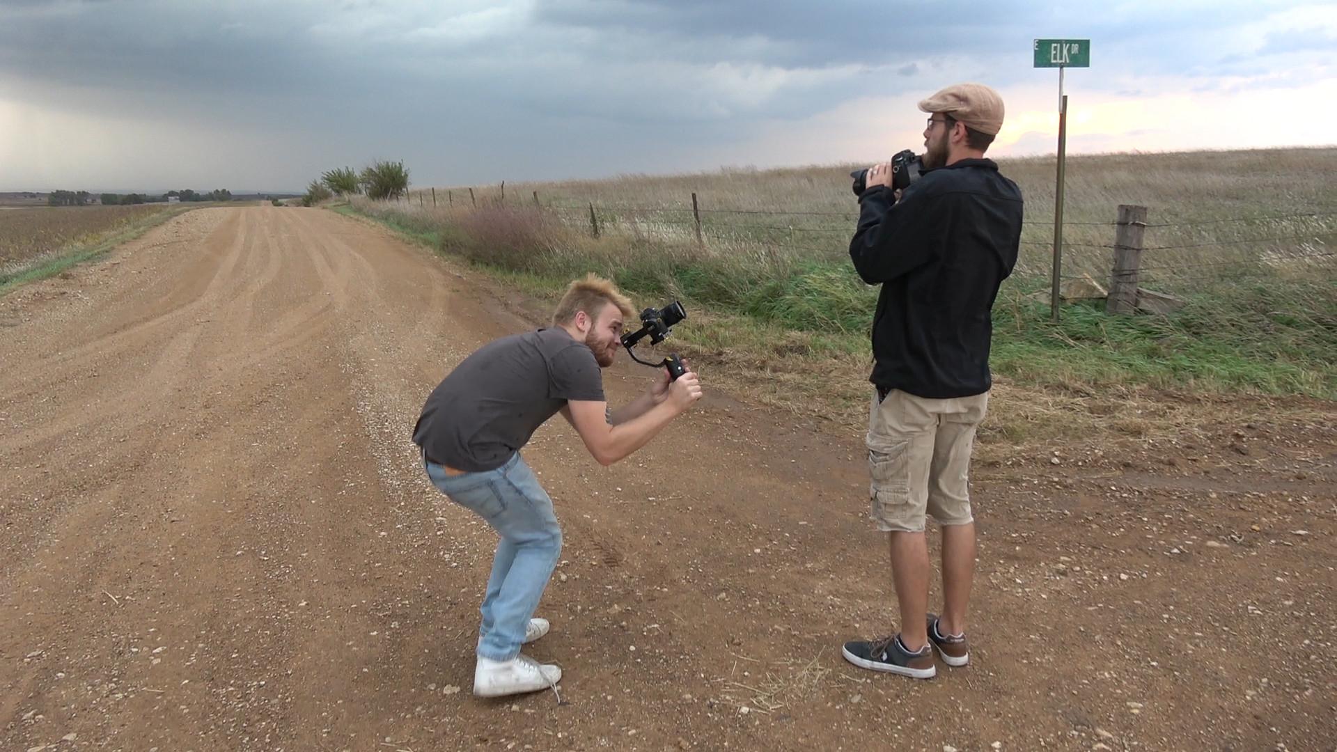 Filming Dan