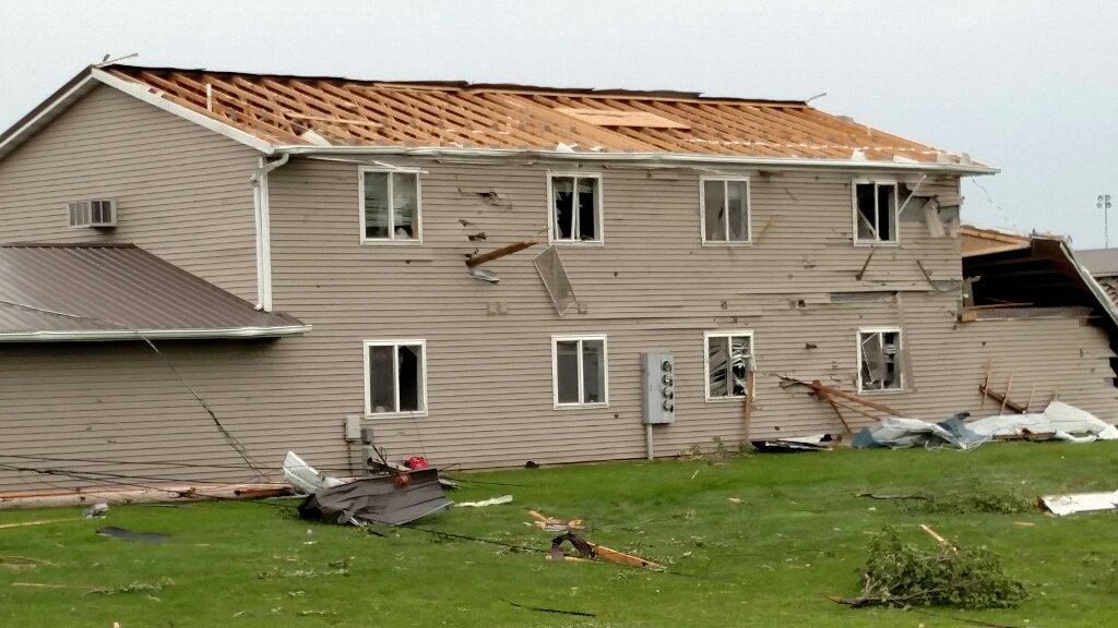 Vinton Iowa Tornado Damage