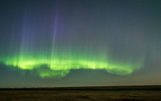 Aurora in Manitoba, Canada on September 7th, 2017